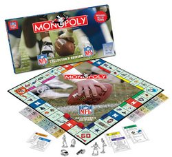 NFL Collector's Edition Monopoly  MSRP $36.00