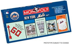 New York Mets Team Collector's Edition Monopoly  MSRP $36.00