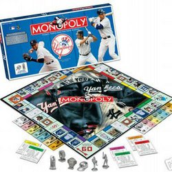 New York Yankees MLB Team Collector's Edition Monopoly by USAopoly  MSRP $36.00