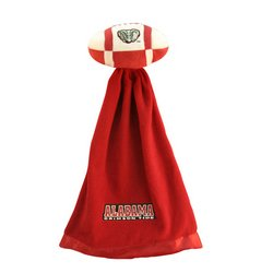 Alabama Crimson Tide Plush NCAA Football w/Attached Security Blanket by Coed Sportswear  MSRP $20.00