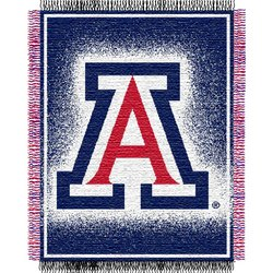 Arizona Wildcats Triple Woven Jacquard NCAA Throw by Northwest   MSRP $40.00