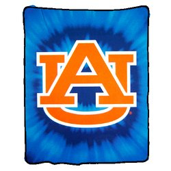 Auburn Tigers Royal Plush Raschel NCAA Blanket by Northwest   MSRP $50.00