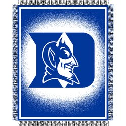 Duke Blue Devils Triple Woven Jacquard NCAA Throw by Northwest   MSRP $40.00