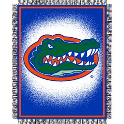 Florida Gators Triple Woven Jacquard NCAA Throw by Northwest   MSRP $40.00