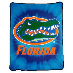 Florida Gators Royal Plush Raschel NCAA Blanket by Northwest   MSRP $50.00