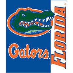 Florida Gators Royal Plush Raschel NCAA Blanket by Northwest   MSRP $40.00