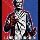 Land of Lincoln in Springfield, Illinois