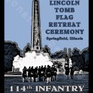 114th Infantry Illinois Volunteers in Springfield, Illinois