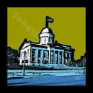 "12""x12"" - Old State Capitol in Springfield, Illinois"