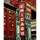 "11""x14"" - Chicago Theatre Marquee in Chicago"