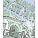 """16"""" x 20"""" - Illinois State Fair Grounds in Springfield, Illinois"""