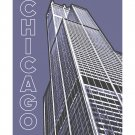 "11""x14"" - Willis Tower in Chicago"