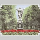 "11""x14"" - Notre Dame Jesus with Red Tulips"