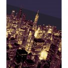 "11""x14"" - Chicago Skyline at Night"