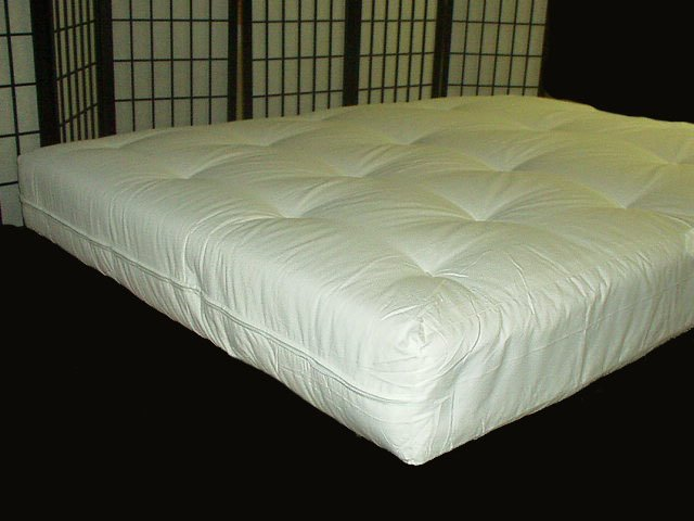 QUEEN SIZE INNERSPRING FUTON MATTRESS BED COUCH