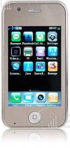"F003 - Wi-Fi, 3.2"" Touch Screen, TV, FM, Dual SIM, Quad Band Mobile Phone"