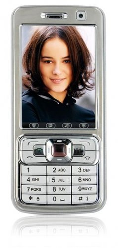 """JC730S - 2.6"""" Touch, TV, Dual SIM, Front & Back 1.3 MP Camera Mobile Phone"""