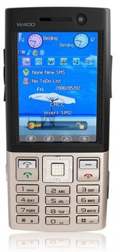 """JCW400S - 2.6"""" Touch/Shake Screen, TV, Dual 1.3 MP Camera Mobile Phone"""