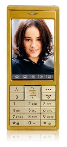 "V1 - TV, 2.6"" Touchscreen, Dual SIM, PDA, Video Recorder Mobile Phone"