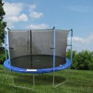"12 Ft Trampoline & Enclosure Set equipped with the New ""UPPER BOUNCE EASY ASSEMBLE FEATURE"""