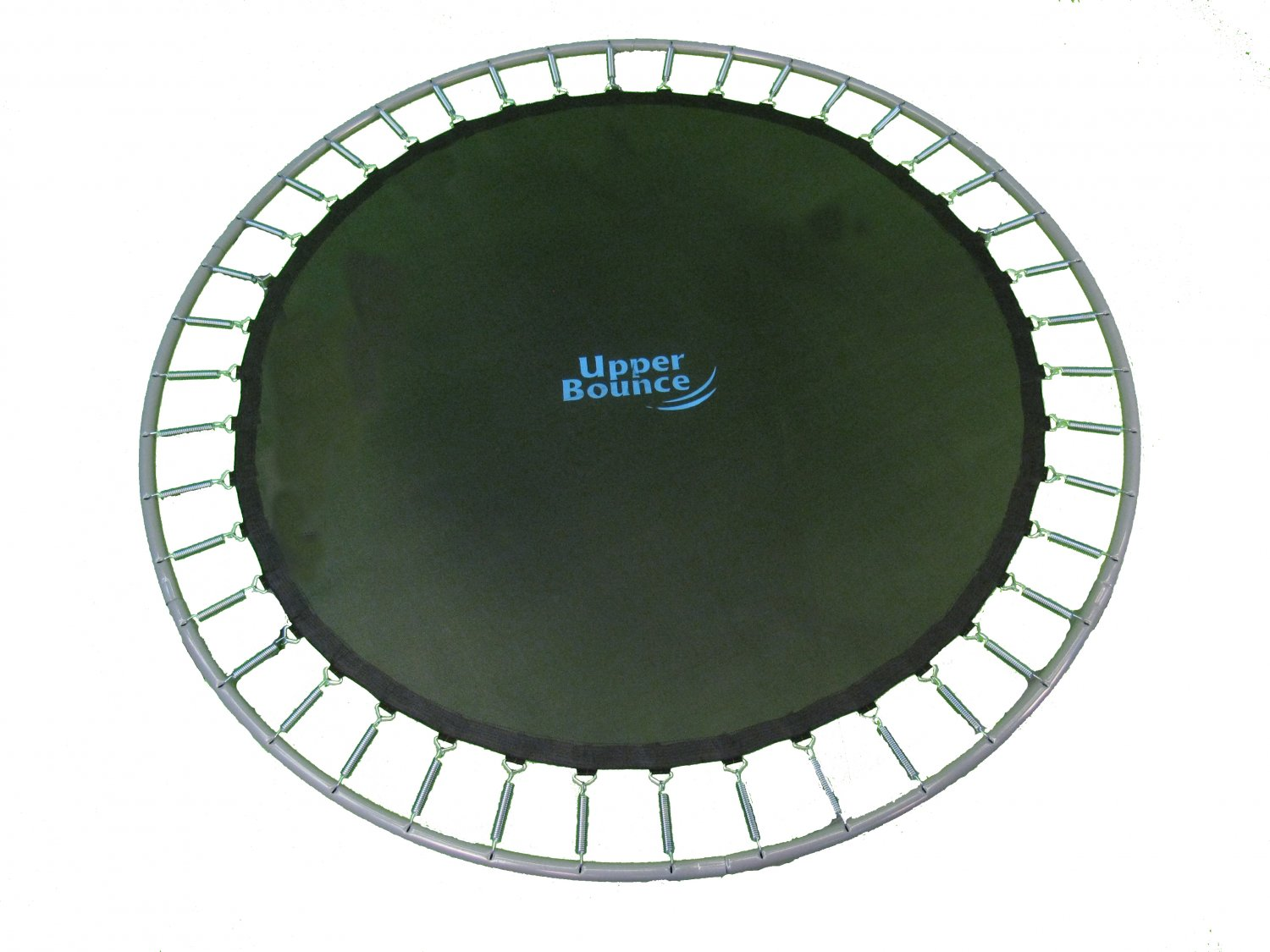 14 Ft Framed Trampoline Jumping Mat With 72 V Rings For