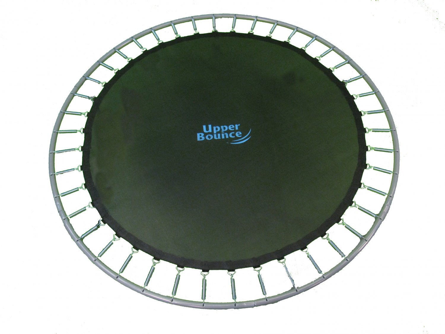 14 Ft Framed Trampoline Jumping Mat With 88 V Rings For