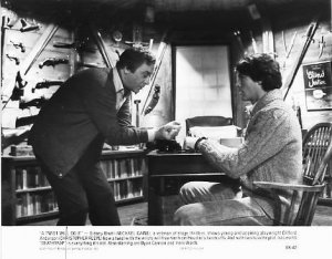 DEATHTRAP Michael Caine, Christopher Reeve 8x10 movie still photo