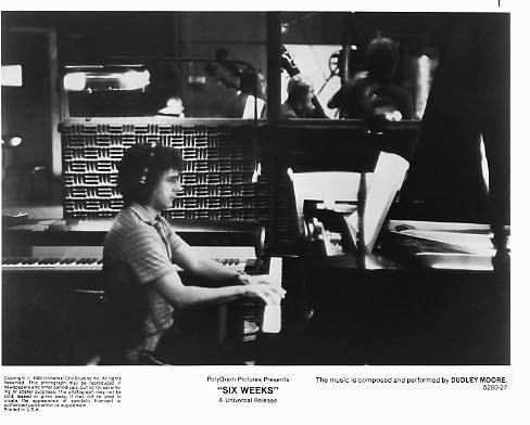 SIX WEEKS Dudley Moore 8x10 movie still photo