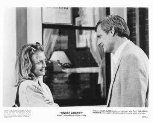 SWEET LIBERTY Michelle Pfeiffer, Alan Alda 8x10 movie still photo