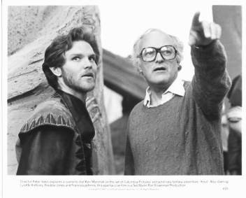 KRULL Ken Marshall, Peter Yates 8x10 movie still photo
