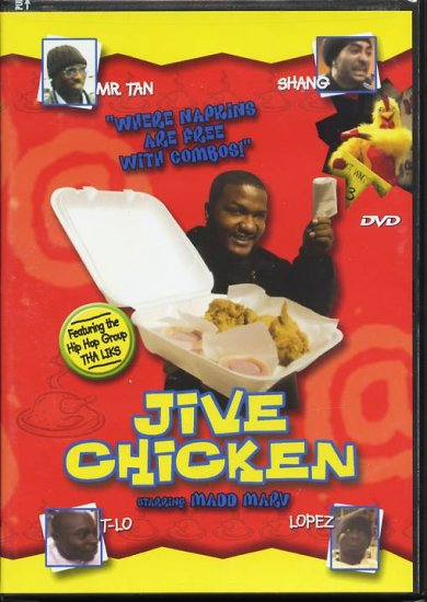 JIVE CHICKEN (DVD) Madd Marv, Thomas, Kareem Grimes III, Marcus Washington, Mr. Tan NEW SEALED