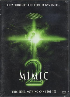 MIMIC 2 (DVD) Alex Koromzay, Bruno Campos NEW SEALED