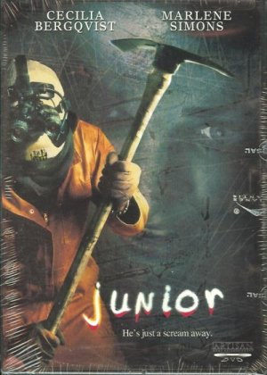 JUNIOR (DVD) Cecilia Bergqvist, Marlene Simons NEW SEALED