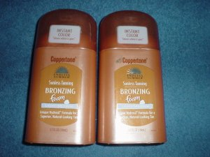 2 endless summers sunless tanning bronzing foam light/medium