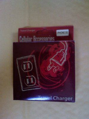 Smart Travel Charger For iPhone 3G 3GS OEM Quality Aftermarket iPhone Charger