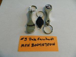 Nascar #3 Dale Earnhardt Connecting Rod Bottle Opener Keychain
