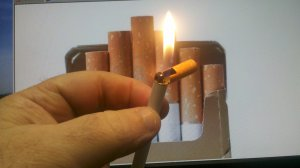 Realistic King Size Shaped Lighter