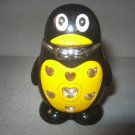 Penguin Shaped Jet Torch Lighter With LED Flashing Lights Windproof Gas Lighter