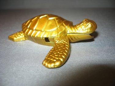 Turtle Shaped Butane Lighter Brass Color