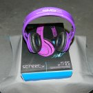 Purple Street By 50 On Ear Wired Headphones SMS Audio SM-818 No Mic