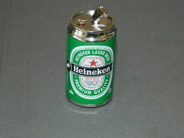Heineken Large Can Shaped Jet Torch Lighter With LED Camping Lantern USA Stocked