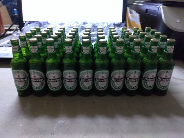 50 Pieces Heineken Beer Bottle Shaped Butane Lighter Bulk Lot Clearance