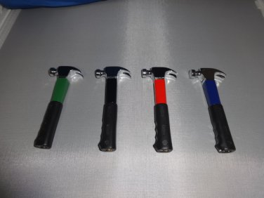 Set Of 4 Hammer Shaped Butane Lighters USA Stocked and Shipped