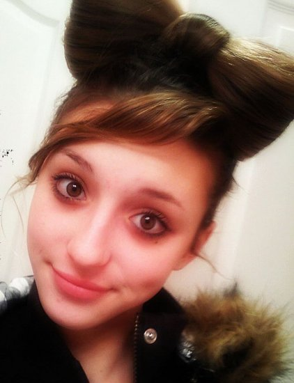 Go Gaga for a Lady Like LIGHT BROWN Hair Bow