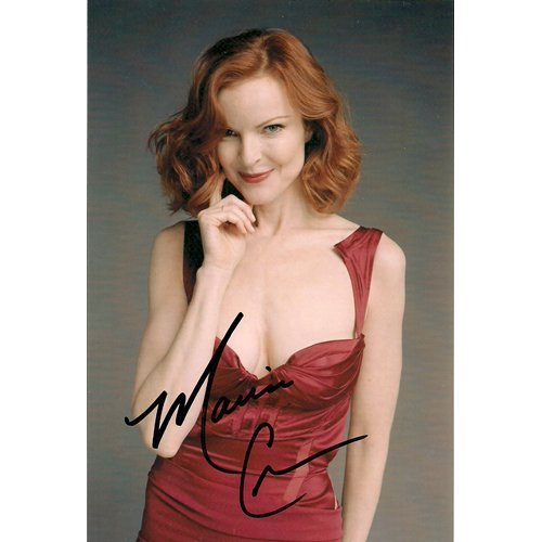 DESPERATE HOUSEWIVES MARCIA CROSS SIGNED 4X6 PHOTO