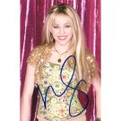MILEY CYRUS SIGNED 4X6 PHOTO + COA