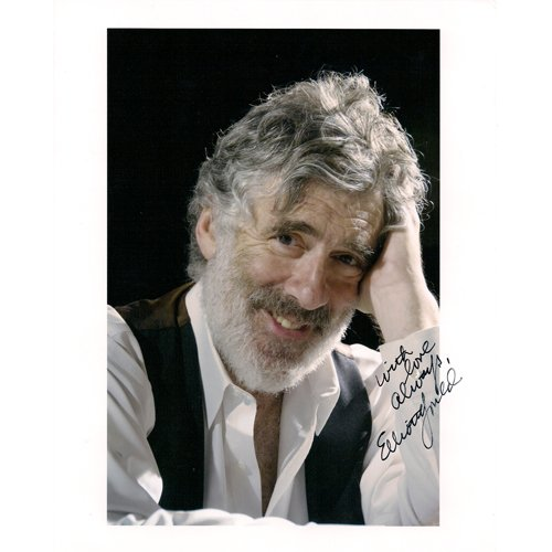 ELLIOTT GOULD SIGNED 8x10 PHOTO + COA