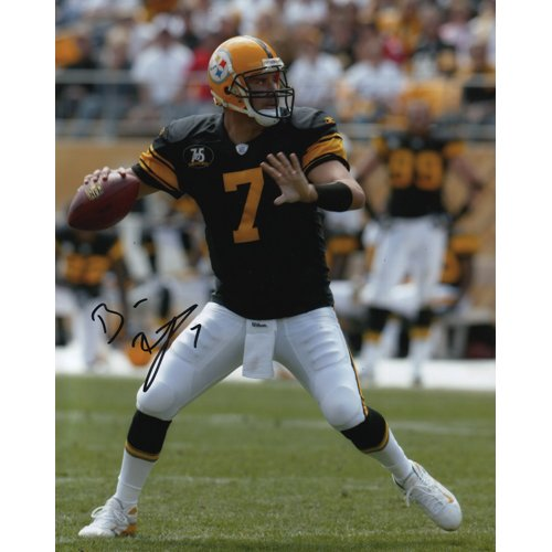 BEN ROETHLISBERGER SIGNED 8x10 PHOTO PITTSBURGH STEELERS
