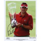 PGA GOLFER BEN CURTIS SIGNED 8x10 PHOTO
