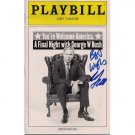 WILL FERRELL AUTOGRAPHED PLAYBILL + COA
